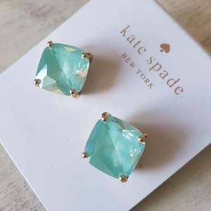 Gorgeous gold earrings by Kate Spade